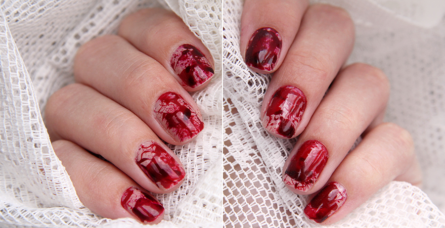 Blood Splatter Nails Pictures Photos And Images For Facebook Tumblr Pinterest And Twitter