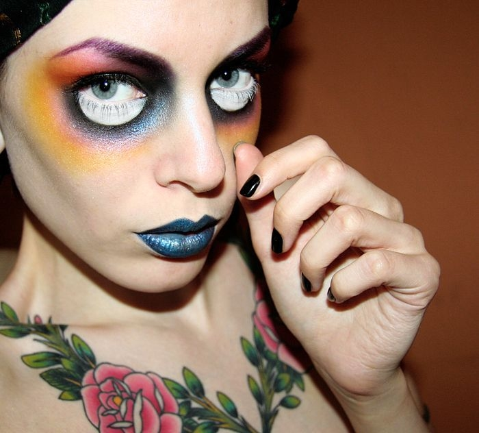 Halloween Makeup Idea Pictures Photos and Images for - Cool Makeup Halloween Costumes