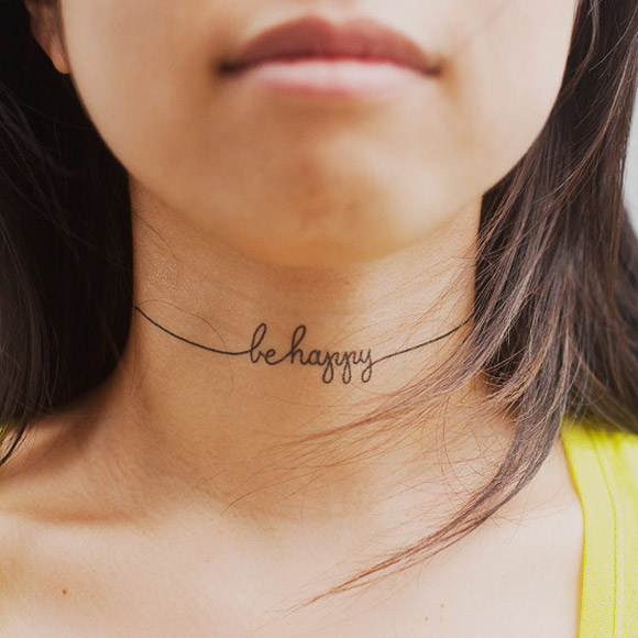 Be Happy Tattoo Pictures, Photos, And Images For Facebook