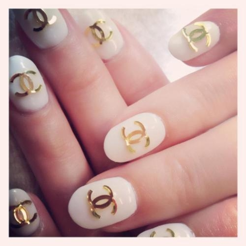 Chanel Logo Nail Art Pictures Photos And Images For Facebook