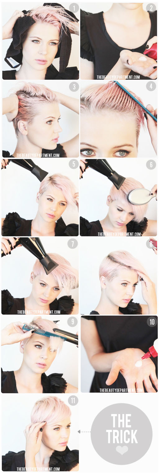 DIY Short Hair Styling Pictures, Photos, and Images for Facebook ...