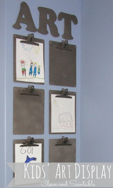 Clipboard Wall Art : Clipboard wall art display pictures photos and images