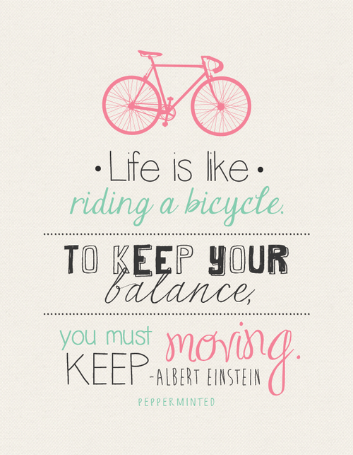 life is like riding a bicycle pictures photos and images