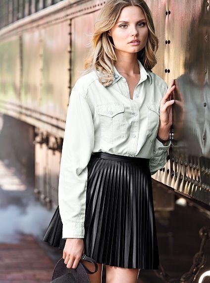 Pleated Skirt Tumblr