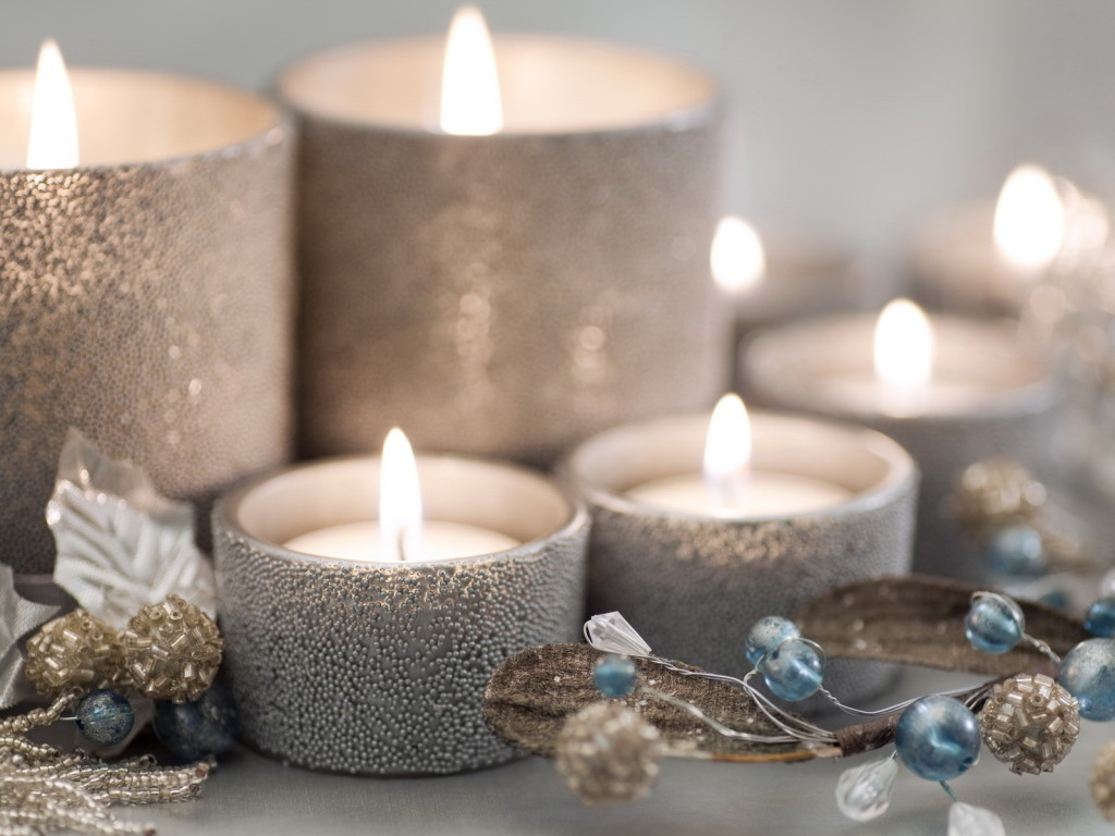 Silver christmas candles pictures photos and images for - Weihnachtsdeko ideen 2017 ...