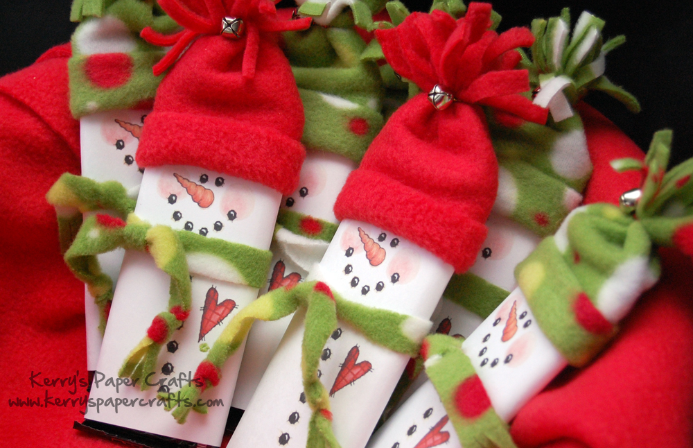 Cute snowman candy bar wrappers pictures photos and for Easy crafts for christmas presents