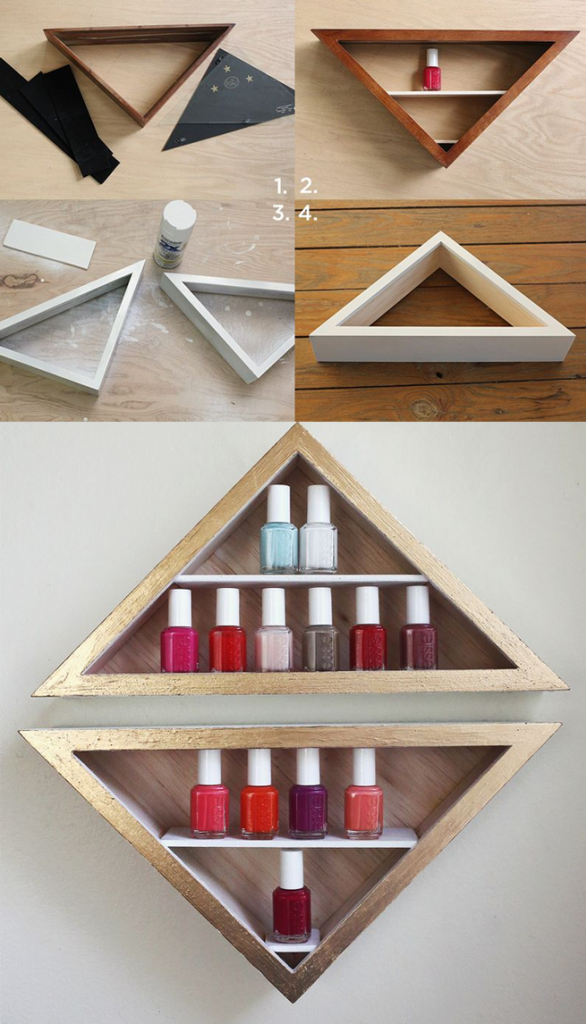 DIY Nail Polish Holder Pictures, Photos, and Images for Facebook ...