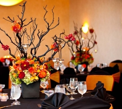 Wedding Autumn Centerpieces Pictures Photos And Images For