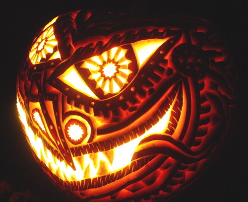 Spooky Jack O Lantern Design Pictures Photos And Images