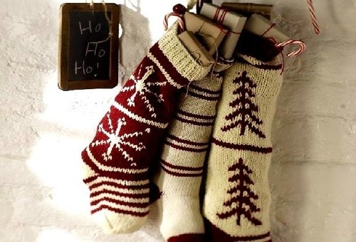 Knit Stockings Christmas