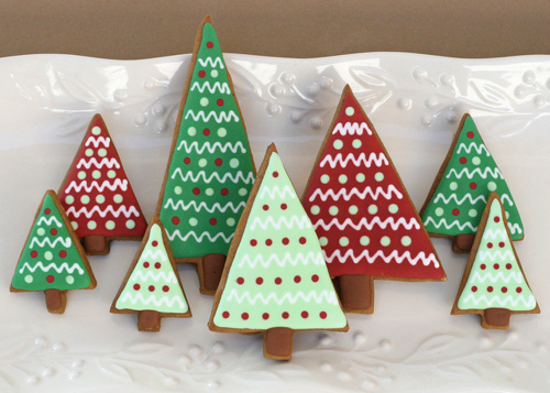 Christmas Tree Gingerbread Cookies Pictures Photos And Images For