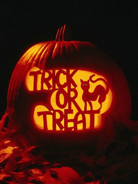 Trick or treat jack o lantern pictures photos and images for Trick or treat pumpkin template