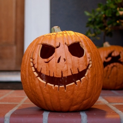 Jack Skellington Pumpkin Pictures, Photos, and Images for