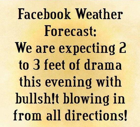Facebook Weather Forecast