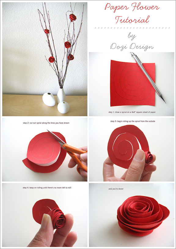 Paper flowers tutorial gallery flower decoration ideas diy paper flower tutorial pictures photos and images for facebook diy paper flower tutorial mightylinksfo mightylinksfo