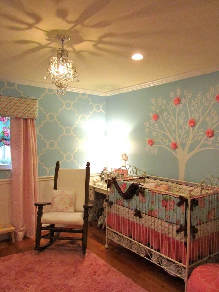 Pretty Baby Girls Room