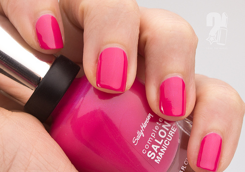 Sally Hansen Hot Pink Nail Polish Pictures, Photos, and Images for ...