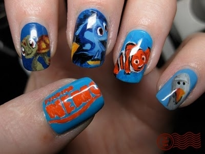 Finding nemo nail art pictures photos and images for facebook finding nemo nail art prinsesfo Gallery