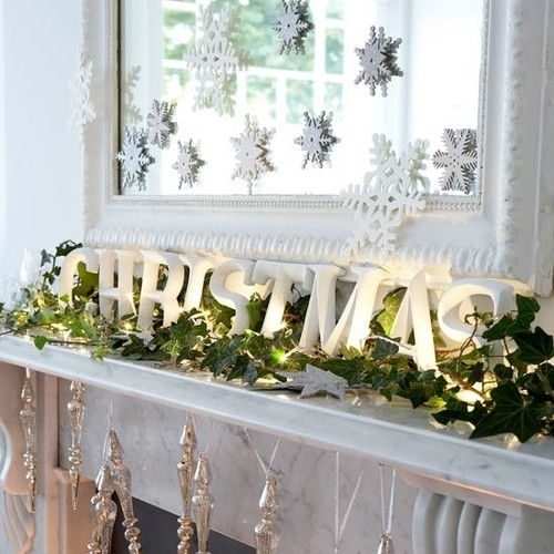 Christmas Mantle.Christmas Mantle Decoration Pictures Photos And Images For