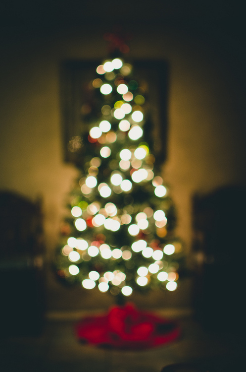 Blurred Christmas Lights Tumblr
