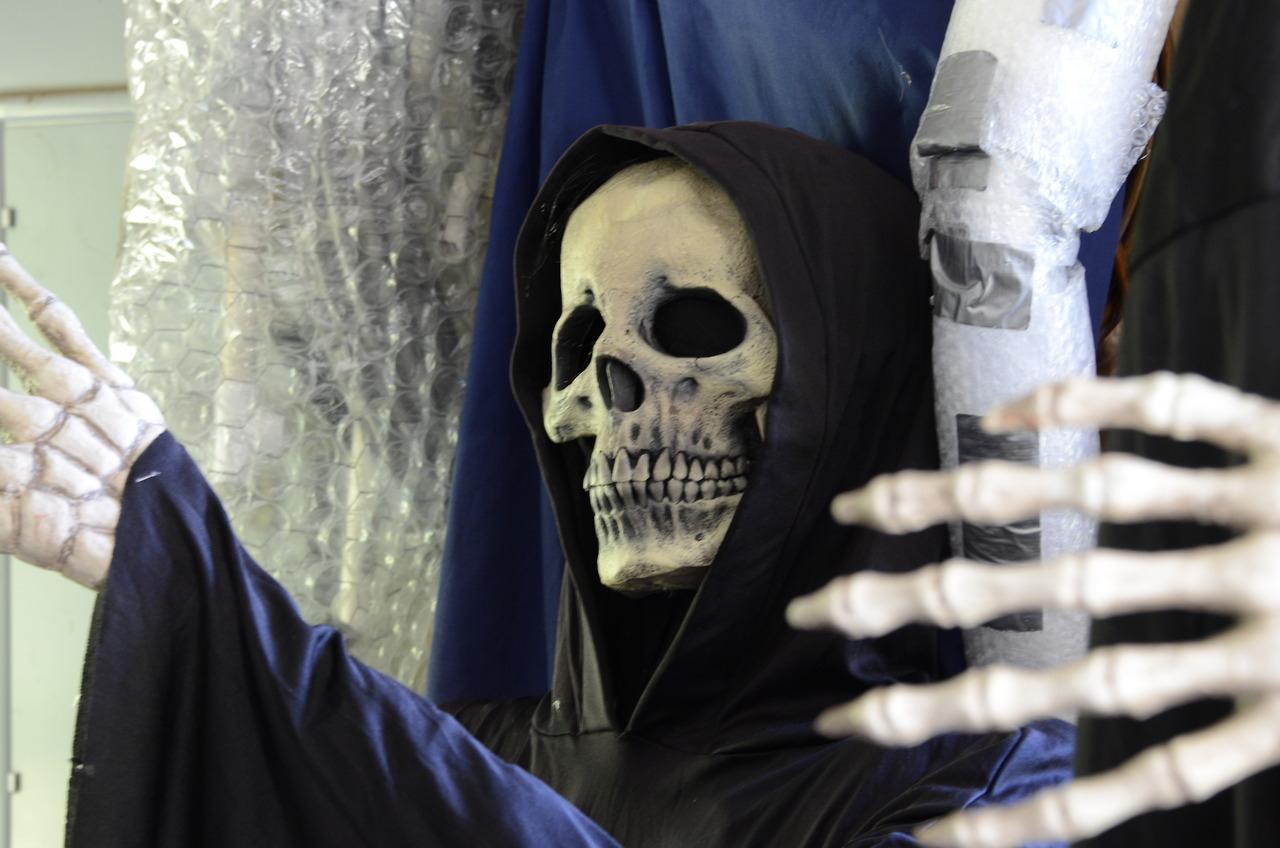 Grim Reaper Closeup