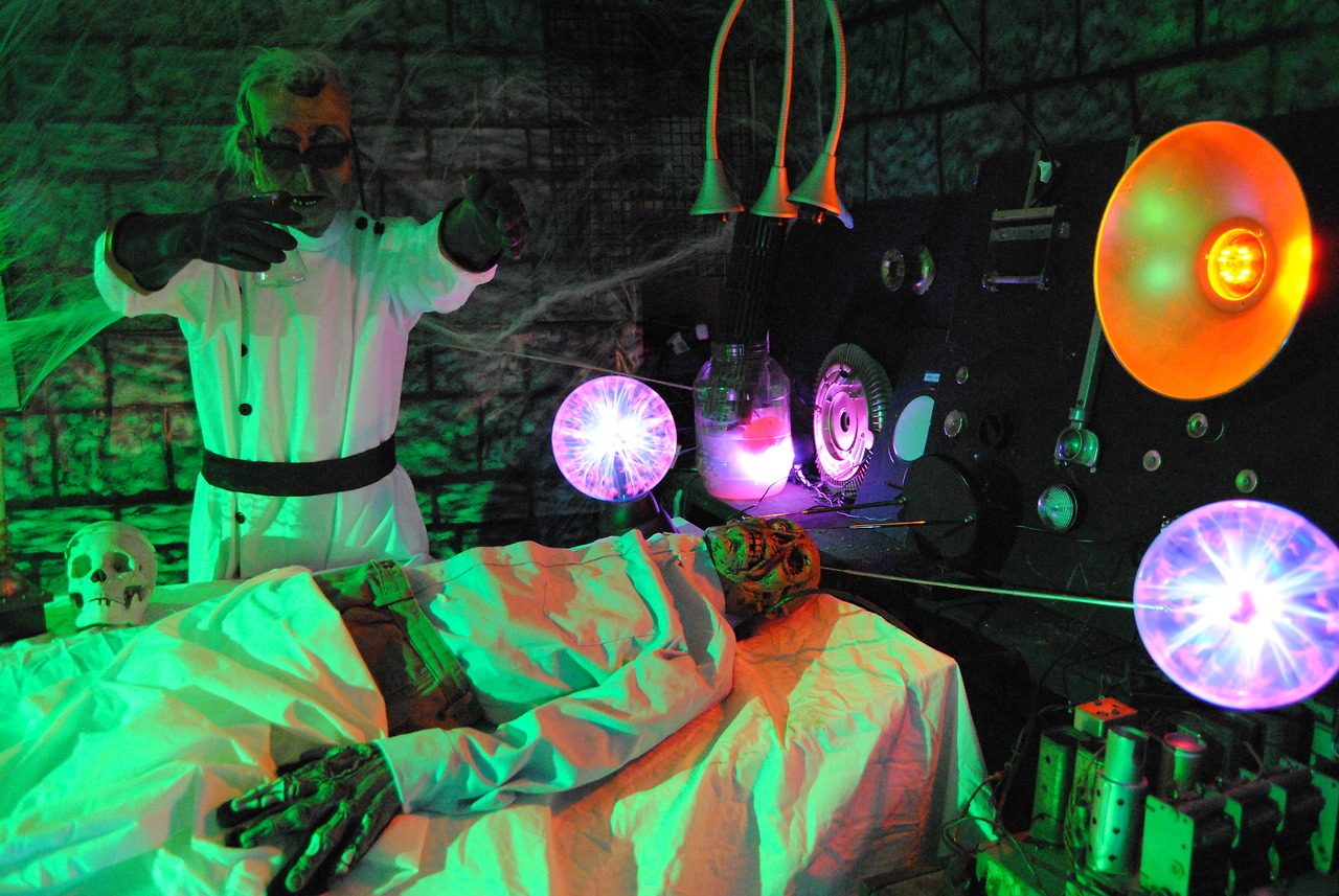 Mad Scientist And His Victim Pictures Photos And Images