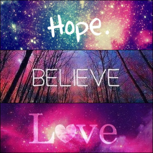 Love Wallpaper On Zedge : Hope Believe Love Pictures, Photos, and Images for ...