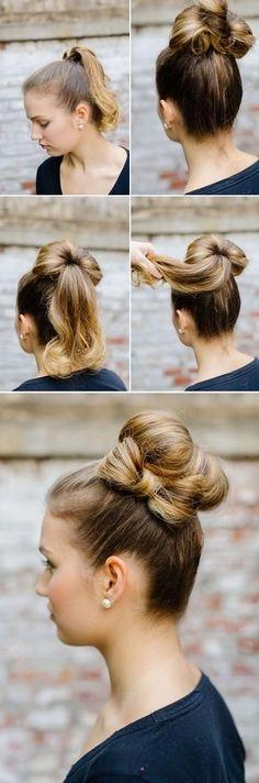 DIY Прическу Волосы Стиль