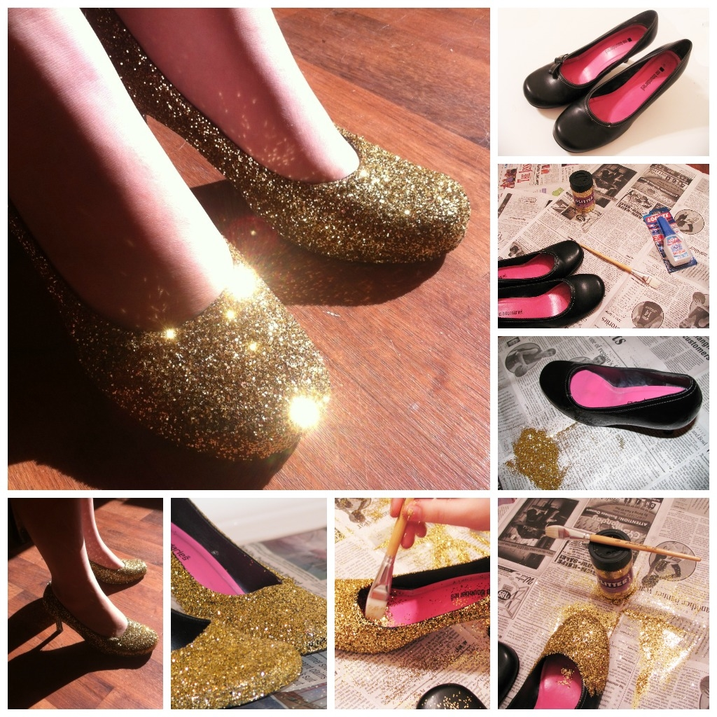 DIY Shoe Glitter Pictures, Photos, And Images For Facebook