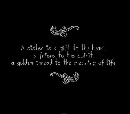 Sister Quote Pictures, Photos, and Images for Facebook, Tumblr