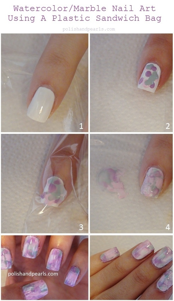 Diy watercolor nail art pictures photos and images for facebook diy watercolor nail art solutioingenieria Images