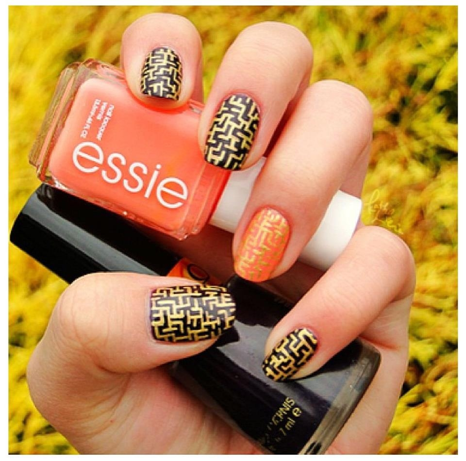 Essie Maze Nail Design Pictures Photos And Images For Facebook