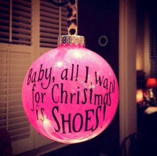 Baby All I Want For Christmas Is Shoes Pictures, Photos, and ...