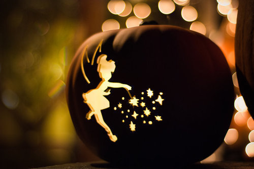 tinkerbell jack o lantern pictures  photos  and images for
