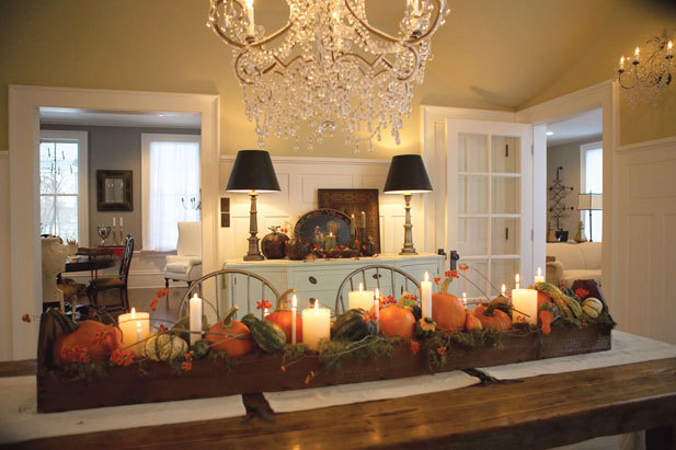 Gorgeous thanksgiving tablescape pictures photos and for Gorgeous thanksgiving table settings