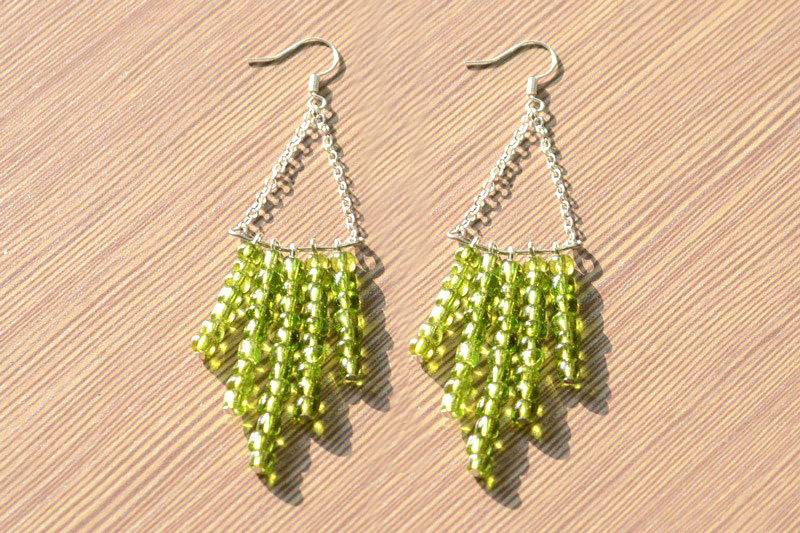 Green Chandelier Earrings Pictures, Photos, and Images for ...