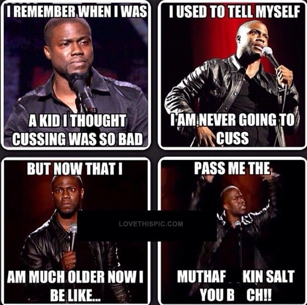 Funny Kevin Hart Instagram Photos Kevin Hart Cussing