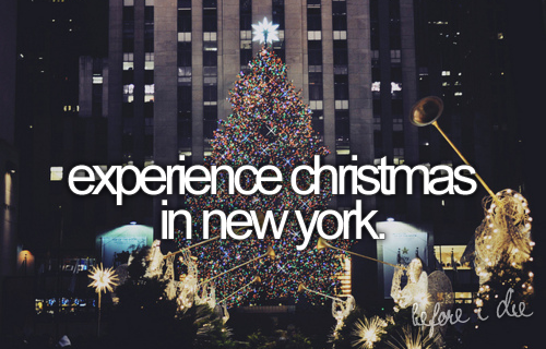 Experience Christmas In New York Pictures, Photos, and Images for Facebook, Tumblr, Pinterest ...