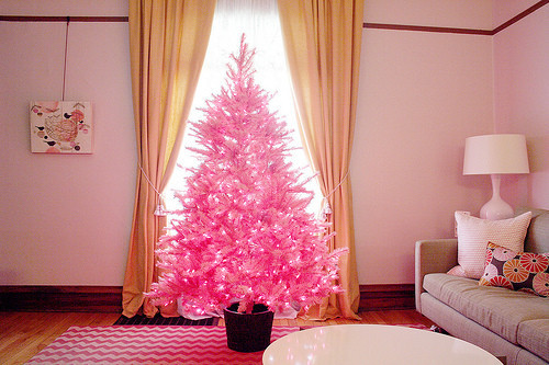 Mini Pink Christmas Tree Pictures, Photos, And Images For