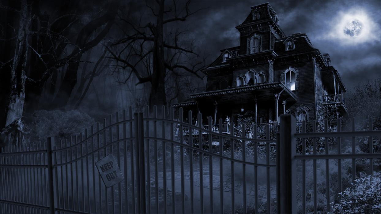 Breaking news - Hold jer væk fra tågen i skoven! 40537-Scary-Mansion