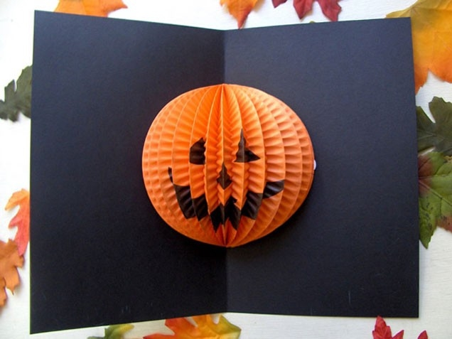 Pop up halloween card pictures photos and images for for Pop up card craft