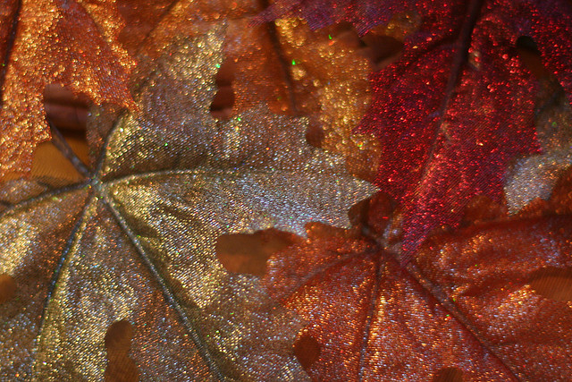 Glitter Leaves Pictures Photos And Images For Facebook