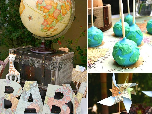 Baby shower food ideas baby shower ideas for boy tumblr for Around the world party decoration ideas