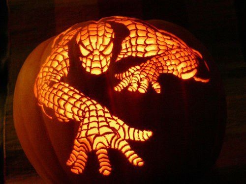 spiderman jack o lantern pictures photos and images for