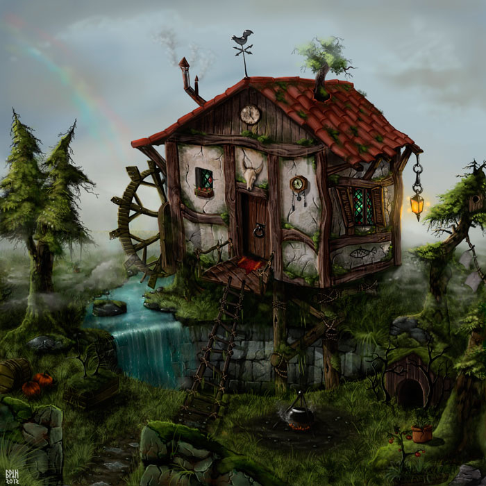 Elegant Witch House 2