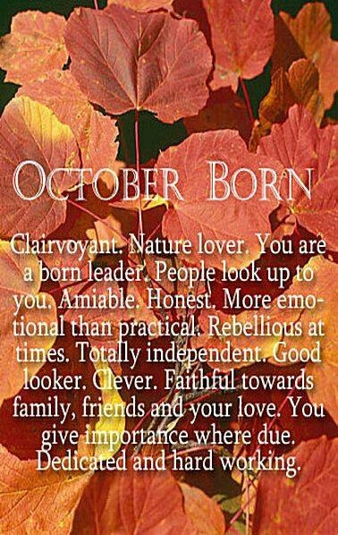 High Quality October Birthday Quotes. QuotesGram