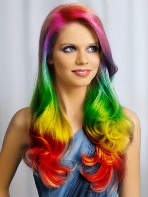 Rainbow Hair Pictures, Photos, and Images for Facebook, Tumblr ...
