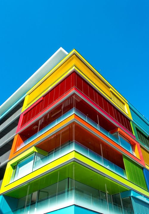 colorful building pictures photos and images for