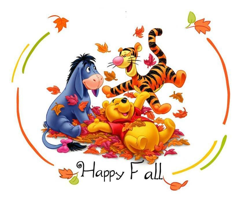 Winnie The Pooh And Friends Happy Fall Pictures, Photos ...