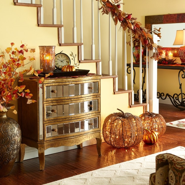Autumn interior pictures photos and images for facebook for Indoor fall decorating ideas